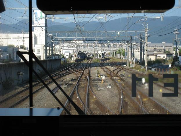 飯田線 岡谷駅進入