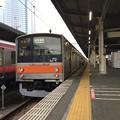 Photos: 205系 千ケヨM22編成 海浜幕張駅