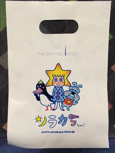 ショッパー ビニール袋 ソラカラちゃん 東京スカイツリー