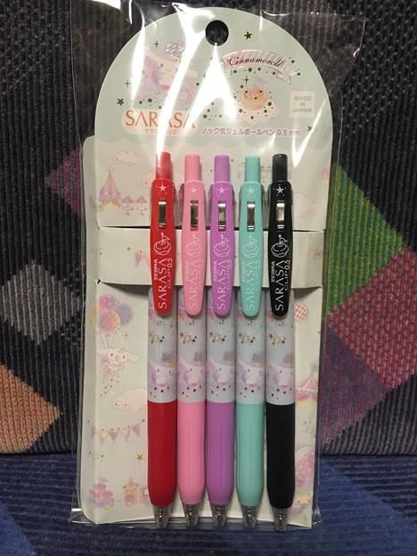 シナモロール サラサクリップ 5色ボールペン