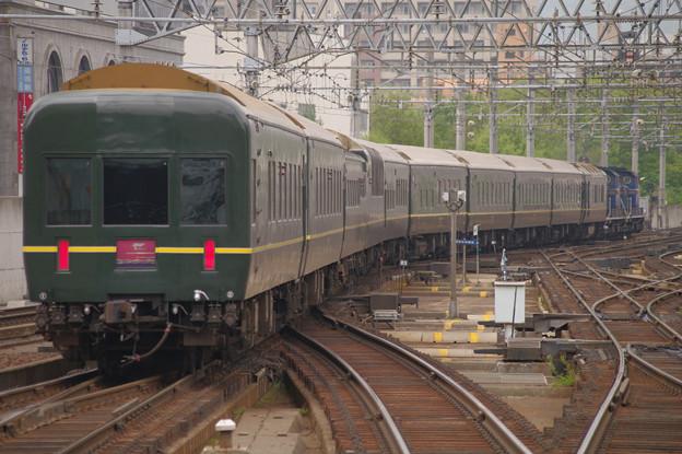 s7446_トワイライトエクスプレス回送出発_札幌