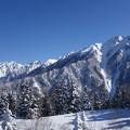 Photos: 槍ヶ岳3180m・南岳3033m・西穂高岳2909m