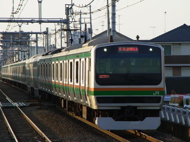 湘南新宿ライン 特別快速小田原行 RIMG3433