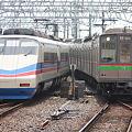 京成AE100形 AE158F・北総9000形 9018F
