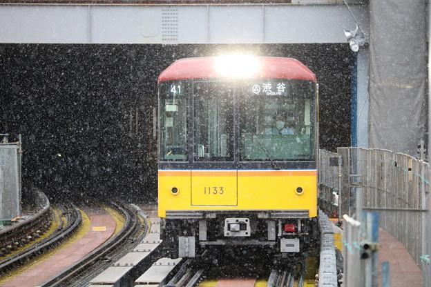 雪と1000系