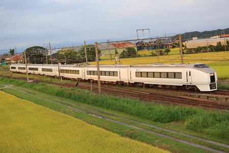 お召し列車予備車は役目を終え帰京