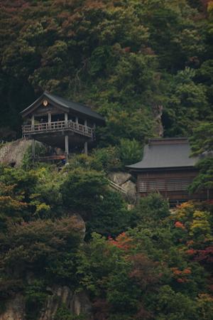 風雅の国から望む山寺五大堂