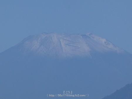 161026-富士山  初冠雪 (3)