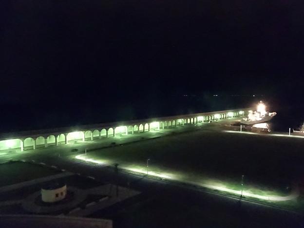 DSC02716   こちらはライトアップ ANAクラウンプラザホテル稚内の9階の部屋から撮影