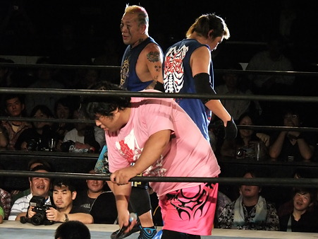 NOSAWA論外vs高木三四郎 東京愚連隊自主興行 東京LOVE2 ANOTHER CHANCE 新宿FACE 20110928 (8)