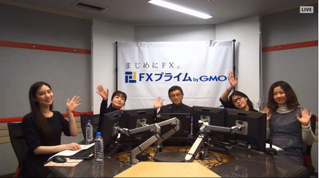 Photos: 2017-01-20 夜トレ! 叶内文子 のーでぃ 内藤理沙 有希奈 高野やすのり(FXプライム)