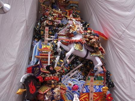 06 博多祇園山笠 飾り山 千代流 2012年 三國志(さんごくし)写真画像2
