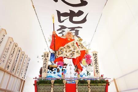 博多祇園山笠 2016年 舁き山 五番山笠 恵比須流 神光普照三千界 (11)
