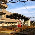Photos: 万葉線、中新湊駅