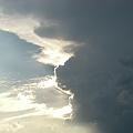 写真: あやしい空@2010-7-25
