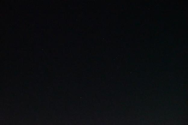 冬の大三角形とオリオン座とアルデバラン