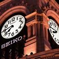 写真: 銀座・和光の時計