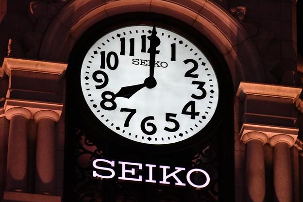銀座・和光の時計