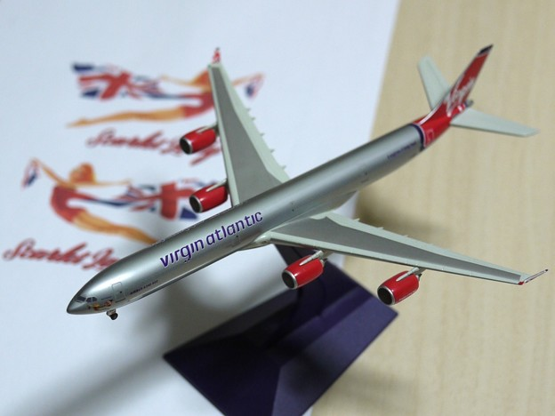 virgin atlantic A340-600 G-VMEG S=1/400
