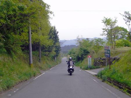 日ノ尾峠へ