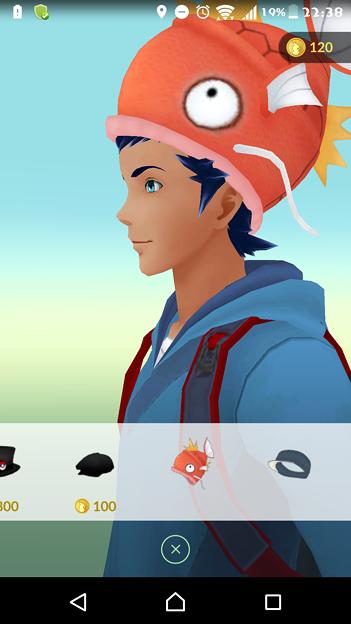 コイキングの帽子www