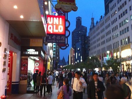 上海ユニクロ