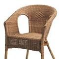 Photos: 籐の椅子テーブル セットで  15ドル