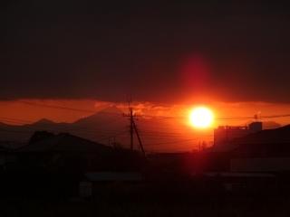 日が暮れるー
