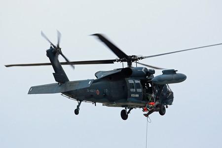 UH-60J 救難教育隊 78-4567 救難デモ IMG_3194_2
