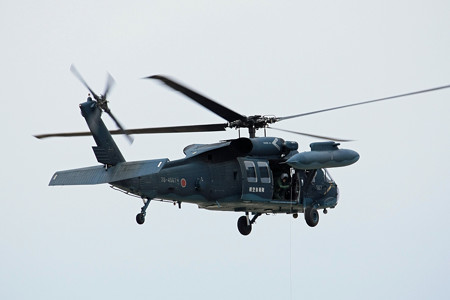 UH-60J 救難教育隊 78-4567 救難デモ IMG_3187_2