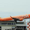 フジドリームエアラインズ5号機 オレンジ JA05FJ IMG_3288_2