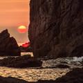 Photos: 陽が沈む
