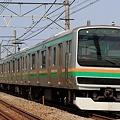 Photos: 882M E231系宮ヤマU540編成 10両