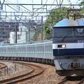 Photos: 8860レ EF210 141+東京メトロ16000系16129F 10両