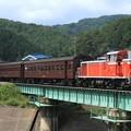 回9213レ DD16 11+旧型客車 3両