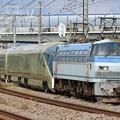 8860レ EF66 115+E001形『TRAIN SUITE 四季島』 7両