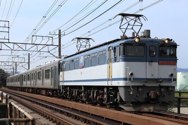 9271レ EF65 2063+福島交通1000系1107F+1109F 5両
