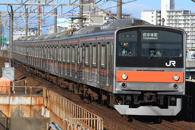 978E 205系千ケヨM7編成 8両