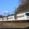 Photos: 4034M 185系宮オオC3編成 5両