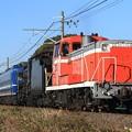 Photos: 配9123レ DE10 1704+D51 498+12系 5両+オヤ12-1