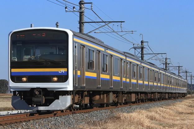 2450M 209系千マリC603編成 6両