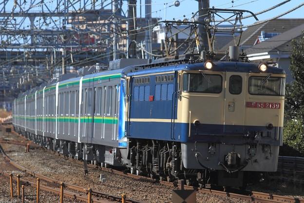 8860レ EF65 2139+東京メトロ16000系16133F 10両