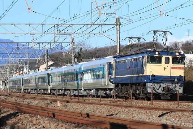 8860レ EF65 2139+東武500系508F+507F+506F 9両