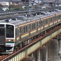 Photos: 129M 211系高タカA28編成 4両