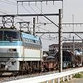 配6795レ EF66 123+コキ+トラ+コキ+シキ