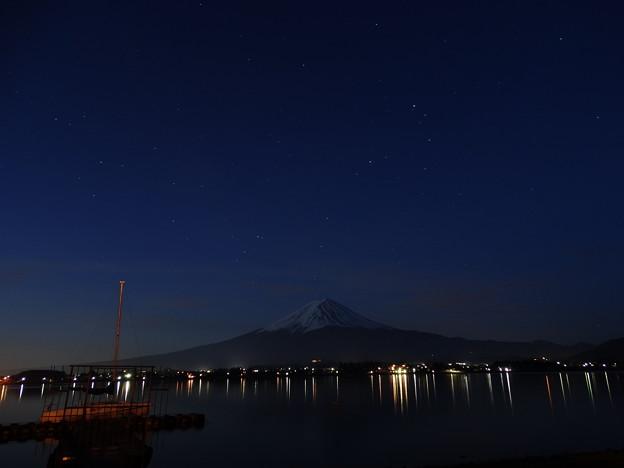 写真: 星降る夜は
