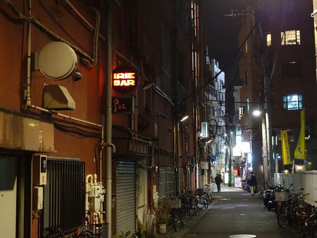 吉田商店街の裏通り (横浜市中区吉田町)