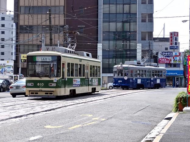 広島電鉄 650形 653号 Hiroden's a-bombed tram 広島市南区猿荒神町