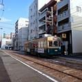 広島電鉄 350形 広島市中区堺町2丁目 - 小網町