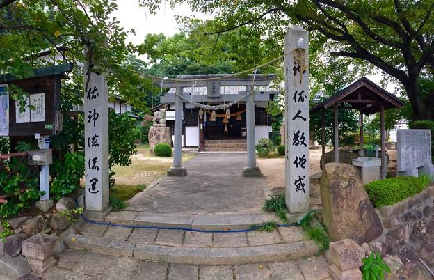 山王神社 shrine 広島市南区段原2丁目